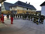 Technische Übung mit Unterstützung des Roten Kreuzes