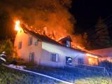 Unterstützung bei Brandeinsatz in St. Veit im Jauntal