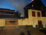 Brand in einem Nebengebäude in Oberwuchel