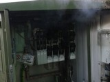 Trafobrand in Pirk