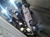 Einsatzübung mit 2 beteiligten PKW im Tunnelbereich