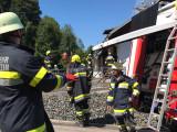 Brandeinsatz in Gallizien
