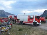 KAT Waldbrandeinsatz Montasio Alm