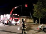 Brandübung am Sportplatz in Grafenstein