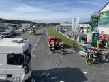 Verkehrsunfall B70 - PKW gegen LKW