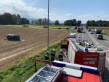 Verkehrsunfall auf B70 Abzweigung Gurnitz