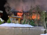 Wirtschaftsgebäudebrand in Obermieger